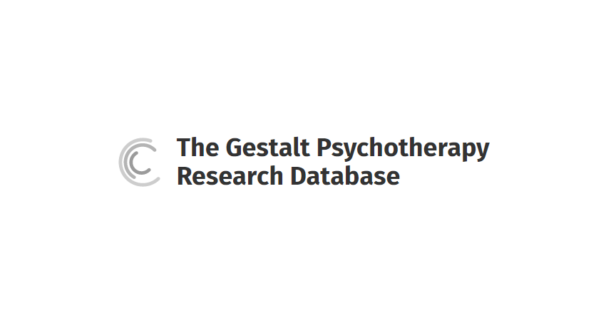 Gestalt Psychotherapy Research Database